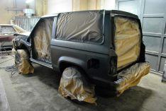 Korozijos pažeistų automobilių restauracija