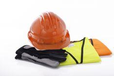 Darbų saugos priemones, darbo drabužiai ir avalynė
