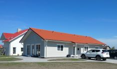 Skydinių - karkasinių namų gamyba, montavimas