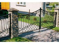 Metalinių vartų gamyba pagal užsakymus.