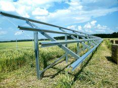 Saulės jėgainių konstrukcijos