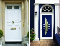 Dekoratyvinės durys ir dekoruotų durų užpildai