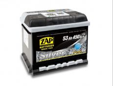ZAP 53AH 450A silver
