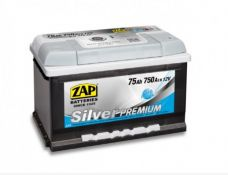 ZAP 75AH 750A silver premium