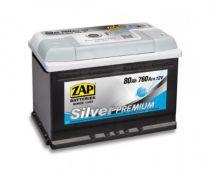 ZAP 80AH 760A silver premium