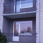 Kalviški darbai: balkonų turėklai