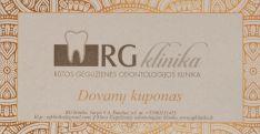 Dovanų kuponas - Odontologinei paslaugai