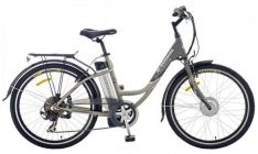 El. dviratis e-totem TOWNIE 2012, 228Wh, priekinis motoras su baterija