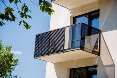 Balkono, terasos turėklai