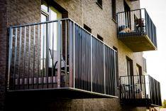 Balkono, terasos turėklai 2