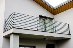Balkono, terasos turėklai 5