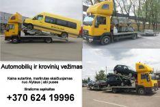 Krovinių ir transporto pervežimas