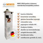 Vokiški kaminai Niko -62 proc. nuolaida - www.kaminai-niko.lt