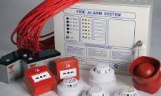 Priešgaisrinės signalizacijos montavimas.