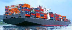 Konteinerių gabenimas jūra.