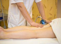 Limfodrenažinis masažas vakuuminiu aparatu