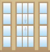 Mediniai angliški langai
