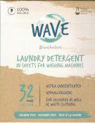 Ekologiški skalbimo lapeliai Wave 32 skalbimams