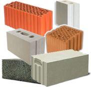 Blokeliai silikatiniai, keraminiai, akyto betono...