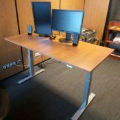 Išmanusis stalas valdomas kompiuteriu – Ergos EPI 650 su ID-Connect