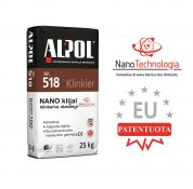 Elastingi NANO-klijai klinkeriui ALPOL AK 518 25 Kg