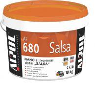 NANO-silikoniniai fasado dažai ALPOL AF 680 10L SALSA