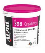 Dekoratyvinis tinkas natūralus smiltainis 2,0 mm SABBIA ALPOL AT 398 25 Kg