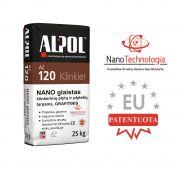 Grafitinis nano-mišinys klinkerio plytelių siūlių užpildas ALPOL AZ 120 25 Kg (STAMBIAGRŪDIS)