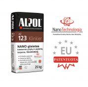 Raudonas nano-mišinys klinkerio plytelių siūlių glaistas ALPOL AZ 123 25 Kg (STAMBIAGRŪDIS)