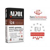Šviesiai pilkas nano-mišinys klinkerio plytelių siūlių užpildas ALPOL AZ 124 25 Kg (STAMBIAGRŪDIS)