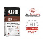 Juodas nano-mišinys klinkerio plytelių siūlių užpildas ALPOL AZ 125 25 Kg (STAMBIAGRŪDIS