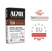 Smėlinis nano-mišinys klinkerio plytelių siūlių užpildas ALPOL AZ 126 25 Kg (STAMBIAGRŪDIS)