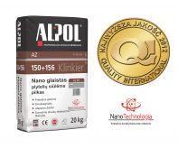 NANO-glaistas klinkerio siūlėms nuo 3 iki 10 mm ALPOL AZ 151 20 Kg (PILKAS-SMULKIAGRŪDIS)