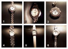 Sidabriniai laikrodžiai