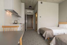 Dvivietis kambarys su virtuvėle