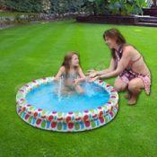Vaikiškas baseinas su dviem žiedais 131 cm x 22 cm