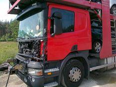 """Vilkikų, sunkvežimių ašių geometrijos atkūrimas su """"JOSAM"""" lazeriniu stendu"""