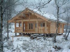 Rąstinių, karkasinių namų gamyba, statyba