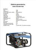 Generatorius 2,8kw, nuoma