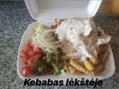 Kebabas Lėkštėje