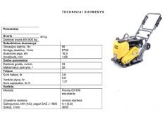 Grunto tankintuvas LF 80 kg 95E, nuoma