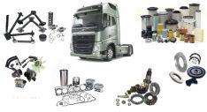 Sunkvežimių, priekabų ir puspriekabių aukštos kokybės naujos dalys