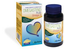 OMEGASTEND PLUS OMEGA 3, riebalų rūgščių kompleksas