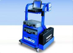 WABCO - tai kompiuterinė sunkvežimių ir puspriekabių stabdžių, elektronikos diagnostika: