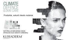 KLERADERM® profesionali kosmetika veido ir kūno odos priežiūrai namuose