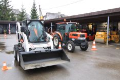 TR1,TR2,SZ kategorijų traktorininkų mokymai