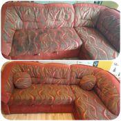 Kampinės sofos valymas ir plovimas Jūsų namuose