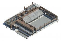 Sporto pastatų projektai