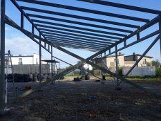 Angarai,stoginės,metalo darbai