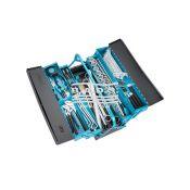 Įrankių dėžė su įrankių komplektu (80vnt)